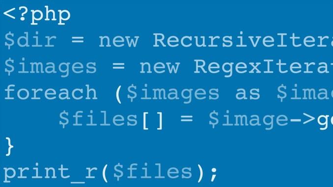 العمل مع الملفات في PHP