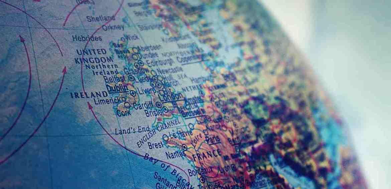 Cartina Geografica Inghilterra E Scozia.Regno Unito Gran Bretagna E Inghilterra