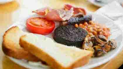 La tipica colazione scozzese