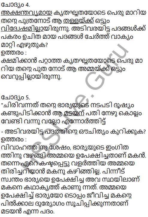 Kerala Padavali Malayalam Standard 10 Solutions Unit 4 Chapter 1 Akkarmashi 26