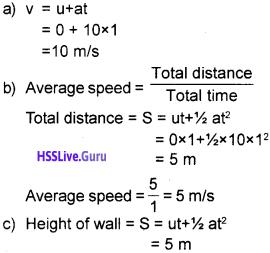 Kerala Syllabus 9th Standard Physics Solutions Chapter 4 Gravitation 9