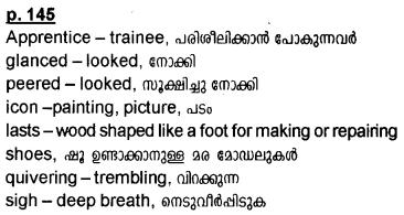 Kerala Syllabus 10th Standard English Solutions Unit 5 Chapter 1 Vanka 10