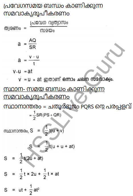 Kerala Syllabus 9th Standard Physics Solutions Chapter 2 Equations of Motion in Fluids in Malayalam 11