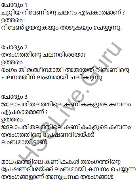 Kerala Syllabus 9th Standard Physics Solutions Chapter 7 Wave Motion in Malayalam 5