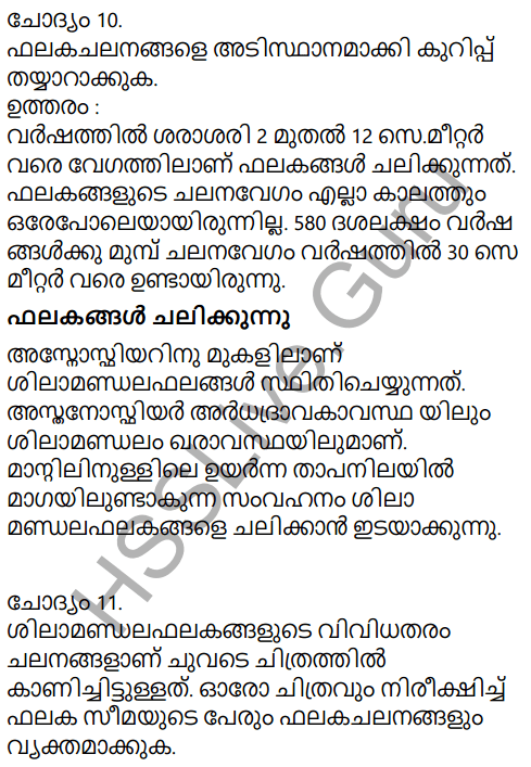 Kerala Syllabus 9th Standard Social Science Solutions Chapter 2 The Signature of Time in Malayalam 8