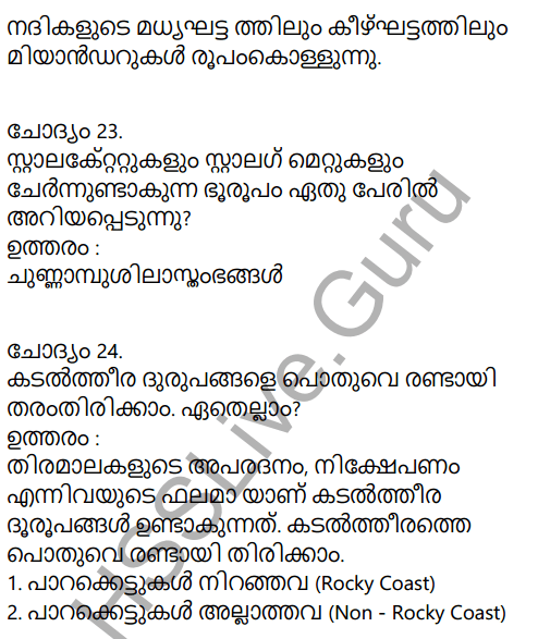 Kerala Syllabus 9th Standard Social Science Solutions Chapter 4 By the Hands of the Nature in Malayalam 16