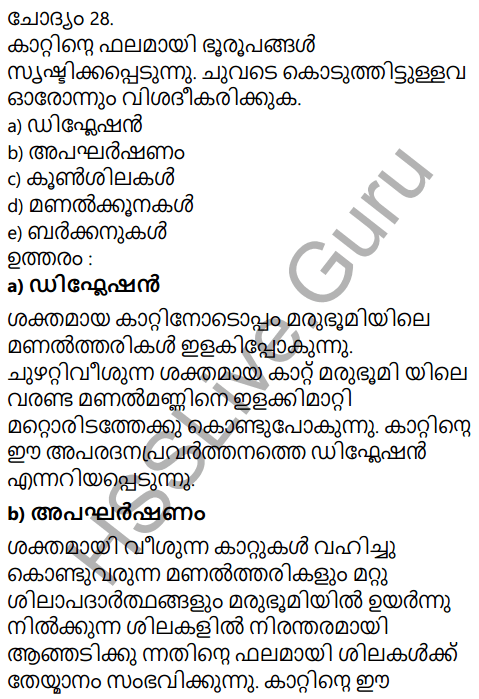 Kerala Syllabus 9th Standard Social Science Solutions Chapter 4 By the Hands of the Nature in Malayalam 20