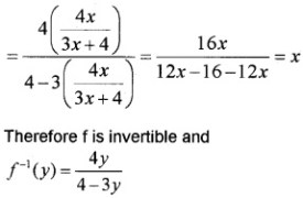 Plus Two Maths Relations and Functions 3 Mark Questions and Answers 6