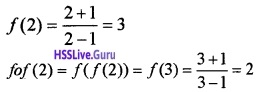 Plus Two Maths Relations and Functions 6 Mark Questions and Answers 11