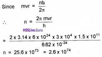 Plus Two Physics Atoms NCERT Text Book Questions and Answers 5