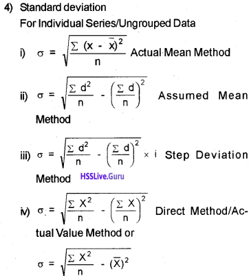 Plus One Economics Chapter Wise Questions and Answers Chapter 6 Measures of Dispersion img10