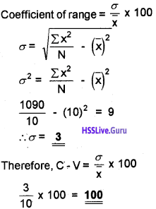Plus One Economics Chapter Wise Questions and Answers Chapter 6 Measures of Dispersion img3