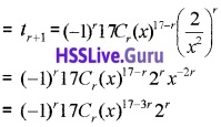 Plus One Maths Binomial Theorem Three Mark Questions and Answers 13