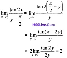 Plus One Maths Limits and Derivatives Three Mark Questions and Answers 18