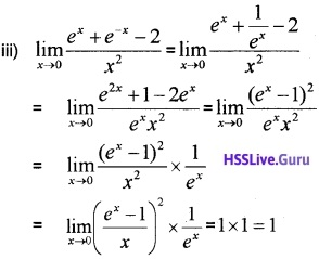 Plus One Maths Limits and Derivatives Three Mark Questions and Answers 23