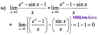 Plus One Maths Limits and Derivatives Three Mark Questions and Answers 24
