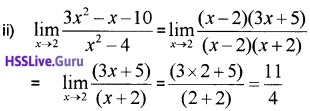 Plus One Maths Limits and Derivatives Three Mark Questions and Answers 32