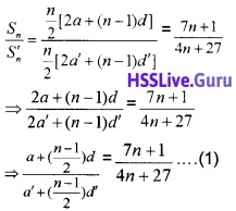 Plus One Maths Sequences and Series Three Mark Questions and Answers 6