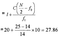 Plus One Maths Statistics Three Mark Questions and Answers 25