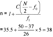 Plus One Maths Statistics Three Mark Questions and Answers 28