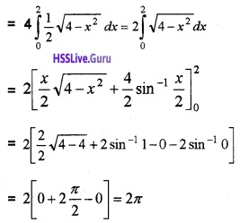 Plus Two Maths Application of Integrals 4 Mark Questions and Answers 19