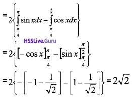 Plus Two Maths Application of Integrals 4 Mark Questions and Answers 25
