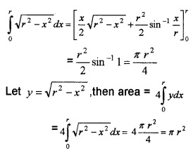 Plus Two Maths Application of Integrals 4 Mark Questions and Answers 27