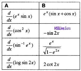 Plus Two Maths Continuity and Differentiability 3 Mark Questions and Answers 54