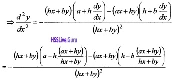 Plus Two Maths Continuity and Differentiability 4 Mark Questions and Answers 71