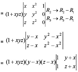 Plus Two Maths Determinants 4 Mark Questions and Answers 24