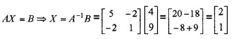 Plus Two Maths Determinants 4 Mark Questions and Answers 29