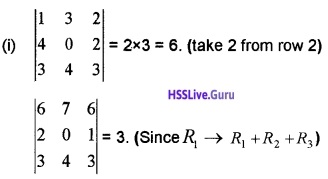 Plus Two Maths Determinants 4 Mark Questions and Answers 39