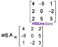 Plus Two Maths Determinants 4 Mark Questions and Answers 45