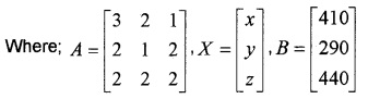 Plus Two Maths Determinants 4 Mark Questions and Answers 56