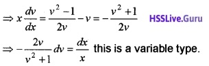 Plus Two Maths Differential Equations 3 Mark Questions and Answers 18