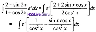 Plus Two Maths Integrals 3 Mark Questions and Answers 1