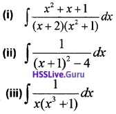 Plus Two Maths Integrals 3 Mark Questions and Answers 28