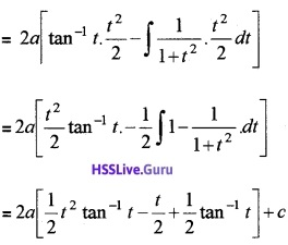Plus Two Maths Integrals 3 Mark Questions and Answers 41