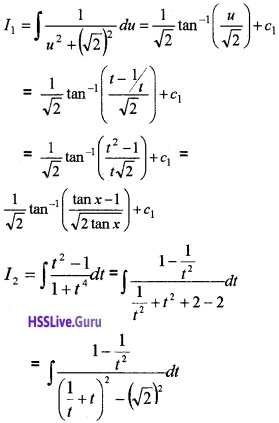 Plus Two Maths Integrals 3 Mark Questions and Answers 83