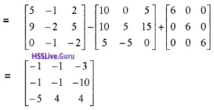 Plus Two Maths Matrices 3 Mark Questions and Answers 4