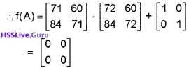 Plus Two Maths Matrices 3 Mark Questions and Answers 42