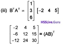 Plus Two Maths Matrices 3 Mark Questions and Answers 57