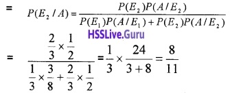 Plus Two Maths Probability 4 Mark Questions and Answers 18