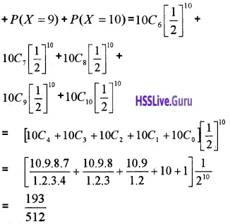 Plus Two Maths Probability 4 Mark Questions and Answers 53