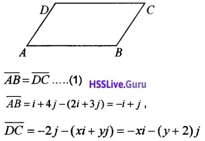 Plus Two Maths Vector Algebra 3 Mark Questions and Answers 18