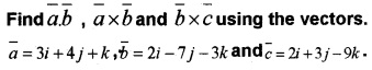Plus Two Maths Vector Algebra 3 Mark Questions and Answers 5