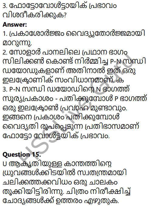 Kerala SSLC Physics Model Question Paper 1 Malayalam Medium 12