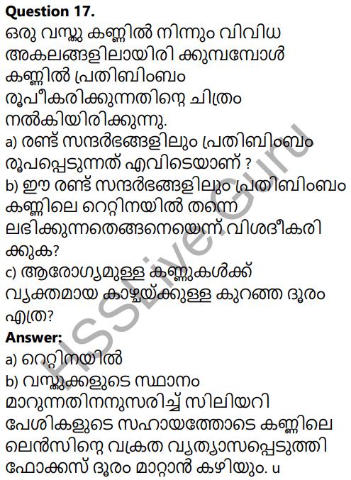Kerala SSLC Physics Model Question Paper 1 Malayalam Medium 15