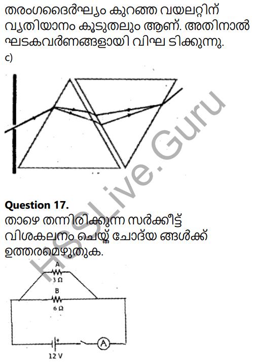 Kerala SSLC Physics Model Question Paper 3 Malayalam Medium 13