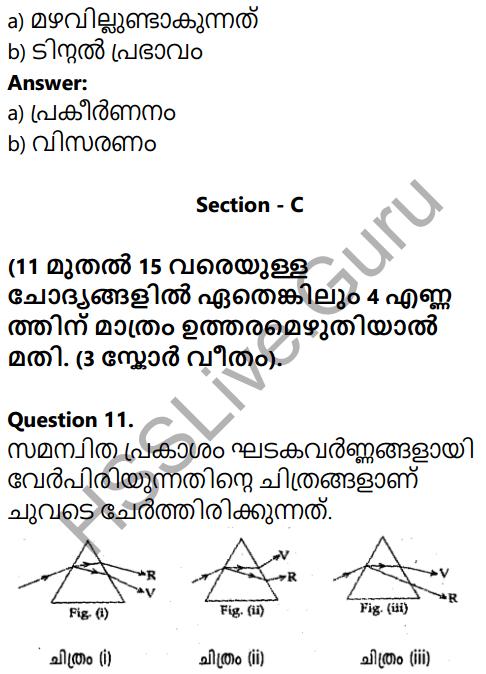 Kerala SSLC Physics Model Question Paper 3 Malayalam Medium 6